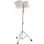Gibraltar Bongo Stand - Double Brace With Adjustable Clip Mount