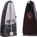 Wittner Black Piccolo Keywound Plastic Metronome