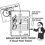 Wright-Way Note Finder WWNF