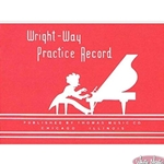 Wright-Way Practice Record Book WWPRB