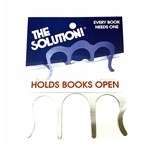 Aim The Solution Metal Page Holder