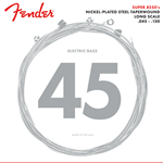 Fender 82505M 5-string Bass Strings Nickel Plated Steel Taper Wound Long Scale .045-.130 Gauges