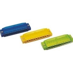 Hohner Colored Plastic Harmonica