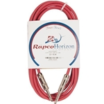 Rapco 10' Red Instrument Cable 24 Gauge