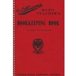 Thomas House Williams Music Teachers Bookkeeping Book