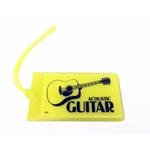 AIM Acoustic Guitar Soft Rubber ID Tag