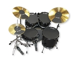 "Firth Drum Set Mute Pre-Pack 10""-22"" (includes Cymbals)"