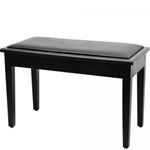 On Stage KB8904B Deluxe Piano Bench with Storage Compartment