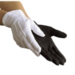 Dinkles Black Sure-Grip Gloves Large