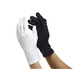 Dinkles Nylon Gloves - White