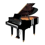 "Yamaha GC1MPE Classic Collection 5' 3"" Acoustic Grand Piano with Bench, Polished Ebony"