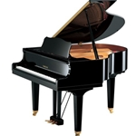 "Yamaha DGB1KENCL Classic Collection Disklaiver Enspire CL 5' 0"" Grand Piano with Bench and Speaker,"