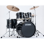 Tama IP52NCHBK Imperialstar 5 Piece Drum Set with Hardware & Cymbals