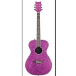 Daisy Rock Pixie Acoustic Guitar Sparkle Finish