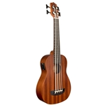 Kala U-Bass Wanderer Acoustic/Electric Mahogany Fretted Bass With Bag