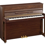 "Yamaha B2PAW b Series 45"" Acoustic Upright Piano with Bench, Polished American Walnut"