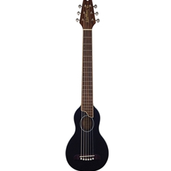 Washburn Rover Travel Acoustic Guitar Black Finish with Bag