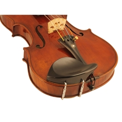 Stuber Ebony Violin Chinrest fits 4/4 and 3/4 Violin