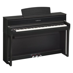 Yamaha CLP675B Clavinova with Bench, Black Walnut