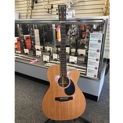 Martin OMC-16E Acoustic Electric Guitar with Case